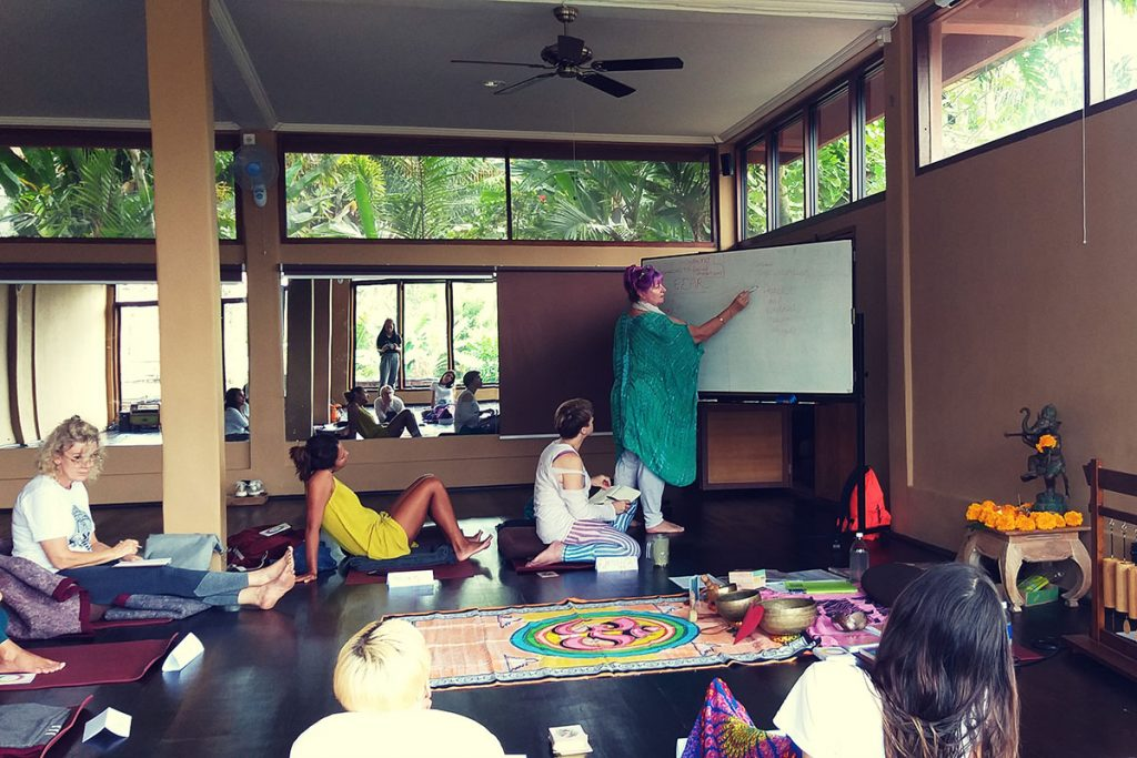 kerry the healer, teaching in bali, teaching yoga video courses, teaching online