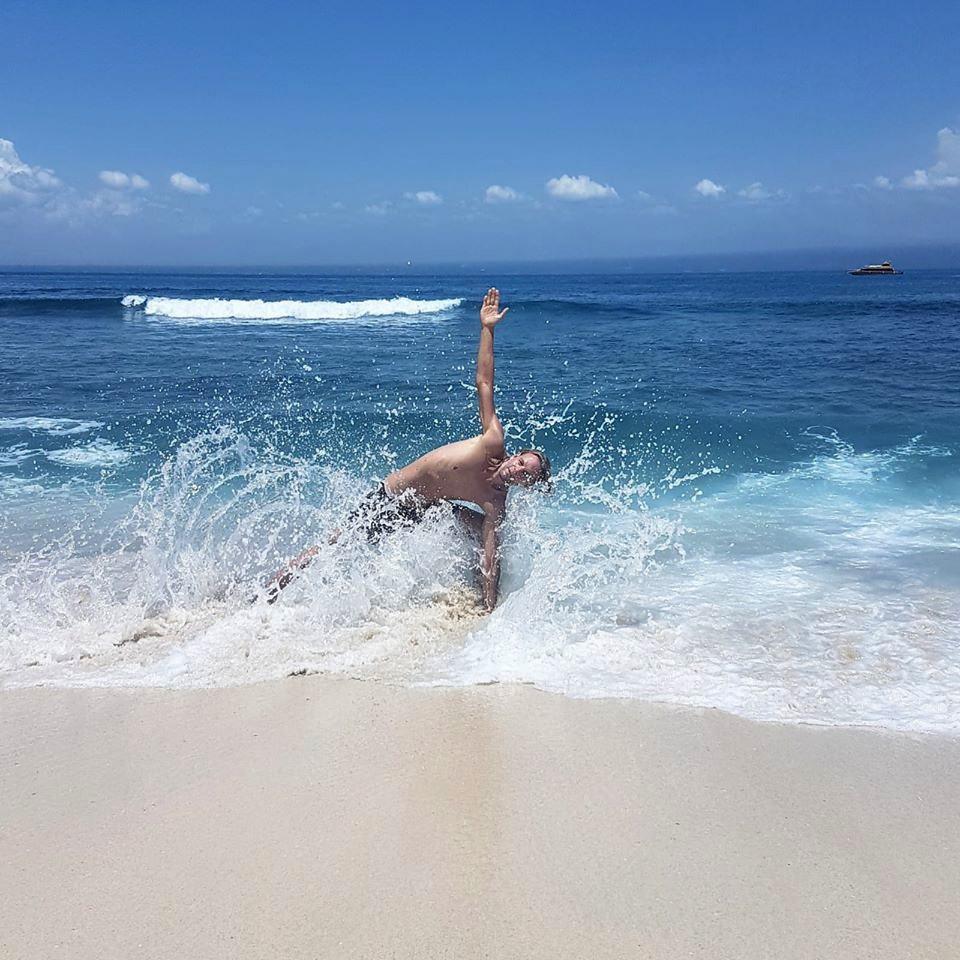 Sureshwara, yoga at the ocean, ocean, indonesia bali, yoga manager